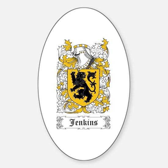 Jenkins Sticker (Oval)