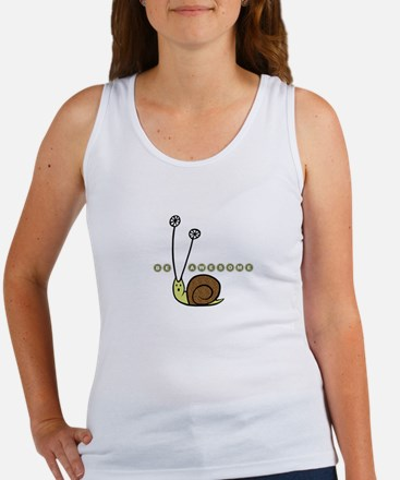 Be Awesome Snail Women's Tank Top