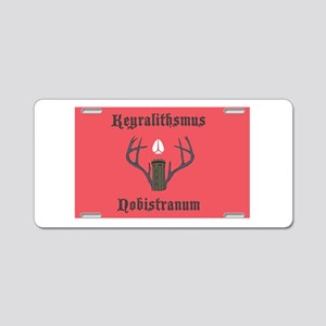 Keyralithian Flag Aluminum License Plate