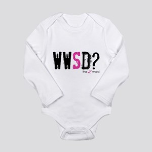the L word Long Sleeve Infant Bodysuit