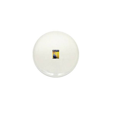 We can do it Mini Button (100 pack)