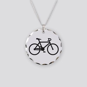 Klaar Bike Necklace Circle Charm