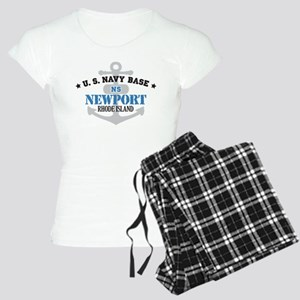 US Navy Newport Base Women's Light Pajamas