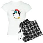 Pirate Penguin Women's Light Pajamas