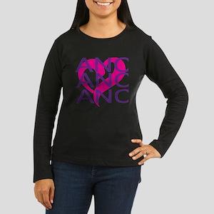 LOVE DANCE Women's Long Sleeve Dark T-Shirt