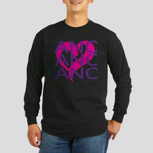 LOVE DANCE Long Sleeve Dark T-Shirt