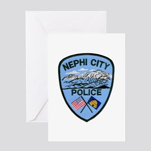 Nephi City Police Greeting Card