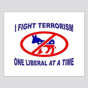 USA TERRORISTS Small Poster
