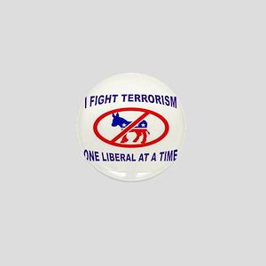 USA TERRORISTS Mini Button