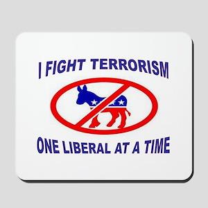 USA TERRORISTS Mousepad