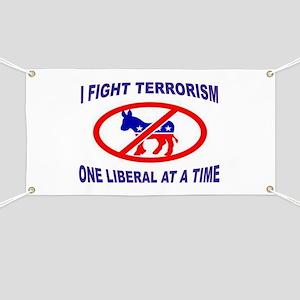 USA TERRORISTS Banner