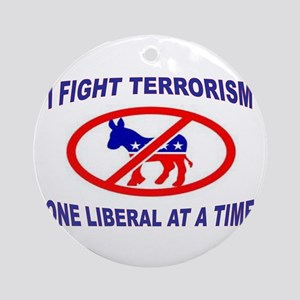 USA TERRORISTS Ornament (Round)