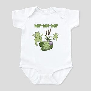 Frog Hop Infant Creeper