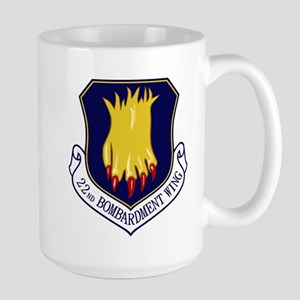 22nd Bomb Wing Large Mug
