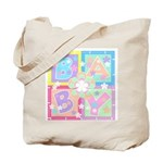 Baby Blocks Tote Bag