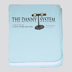 Danny System (King of Queens) baby blanket