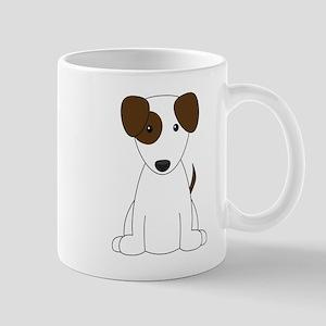 Cartoon Jack Russell Terrier {brown} Mug