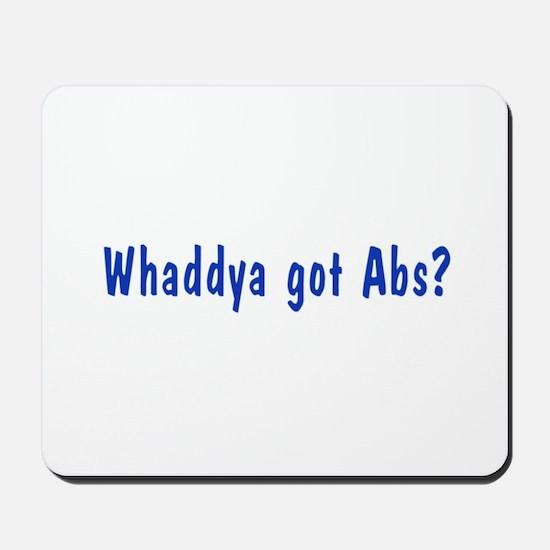 NCIS: Whaddya Got Abs? Mousepad