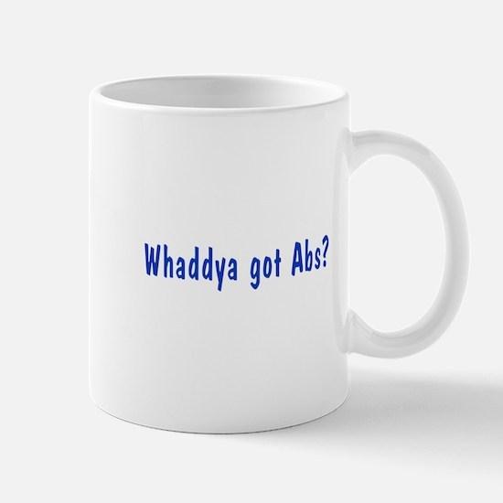 NCIS: Whaddya Got Abs? Mug