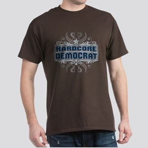 Hardcore Democrat Dark T-Shirt