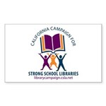 Campaign Strong School Libraries Sticker (50)