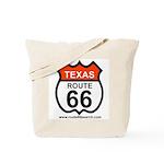 Texas Route 66 Tote Bag
