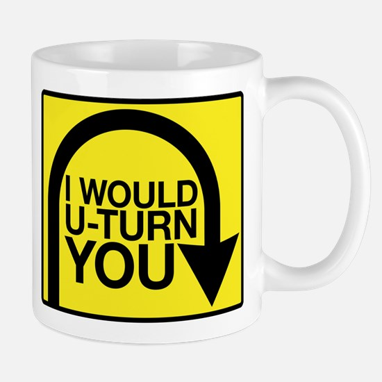 Amazing Race U-Turn Mug