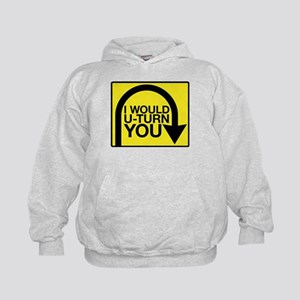 Amazing Race U-Turn Kids Hoodie