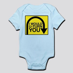 Amazing Race U-Turn Infant Bodysuit