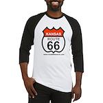 Kansas Route 66 Baseball Jersey