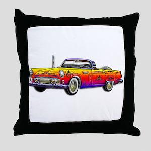 Thunderbird Classic Convertib Throw Pillow