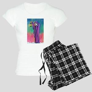 Tarot Hermit Card Women's Light Pajamas