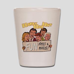 Hardy Har Hut Shot Glass