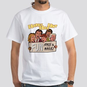 Hardy Har Hut White T-Shirt