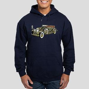 Vintage Classic Car Hoodie (dark)