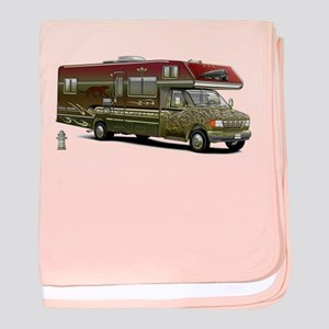 Custom Recreational Vehicle baby blanket