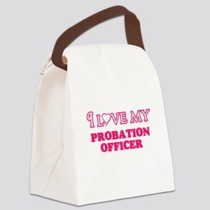I love my Probation Officer Canvas Lunch Bag