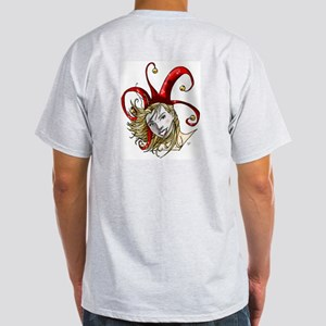 Lady Jester Ash Grey T-Shirt
