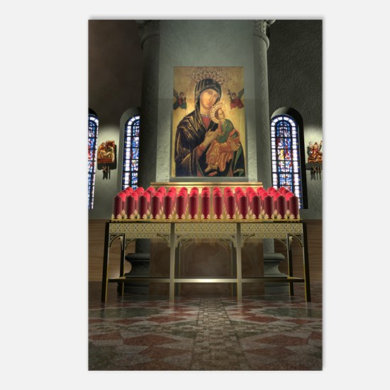 Our Lady of Perpetual Help Postcards (8 Pack)