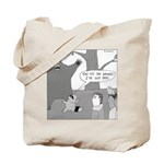 Daniel Boone (no text) Tote Bag