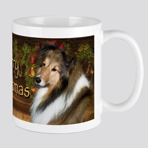 Holiday Grace Sheltie Mug