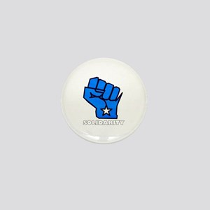 Solidarity Fist Mini Button