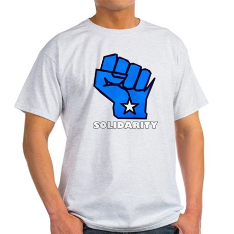 Solidarity Fist Light T-Shirt
