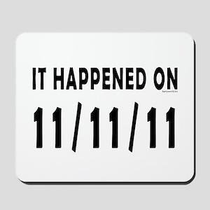 11/11/11 Mousepad