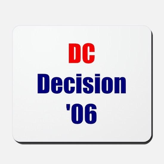 DC Decision '06 Mousepad