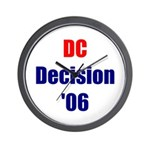 DC Decision '06 Wall Clock