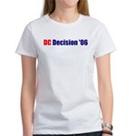 DC Decision '06 Women's T-Shirt