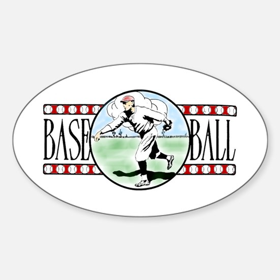 Vintage Baseball Logo Vinyl Decal