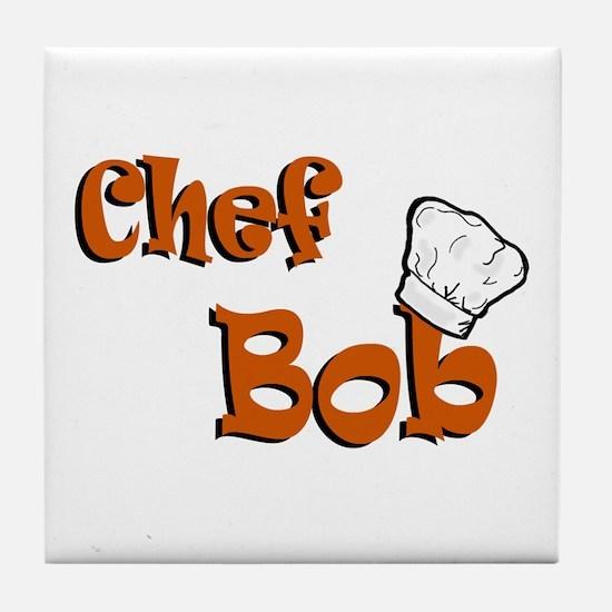 CHEF Bob Tile Coaster