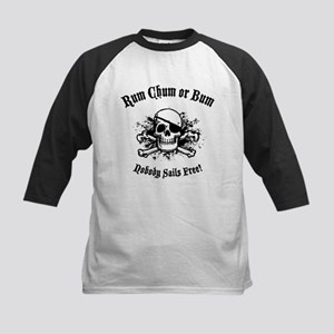 Rum, Chum or Bum Kids Baseball Jersey